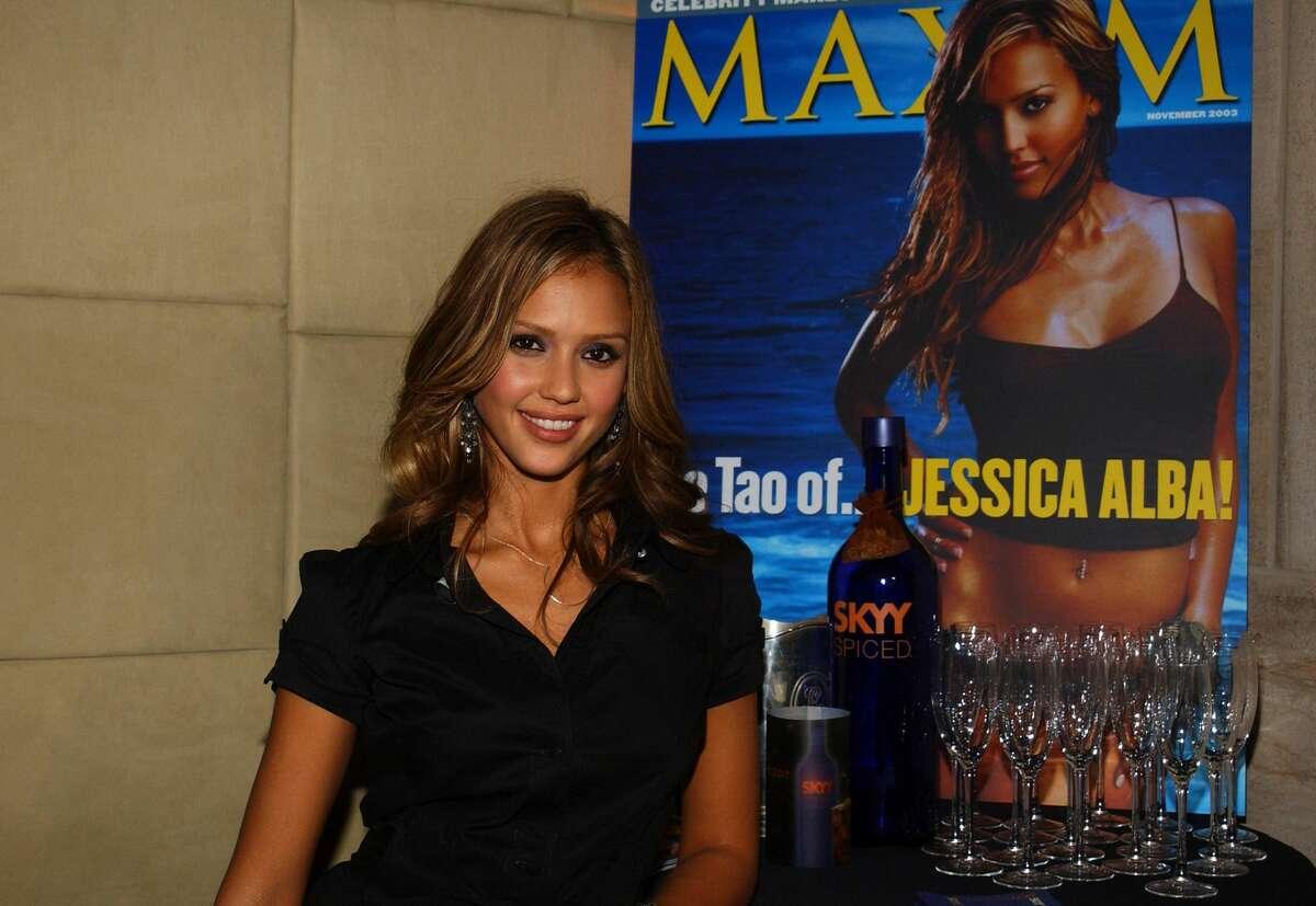 Jessica Alba:Maxim Hot 100 winner 2001