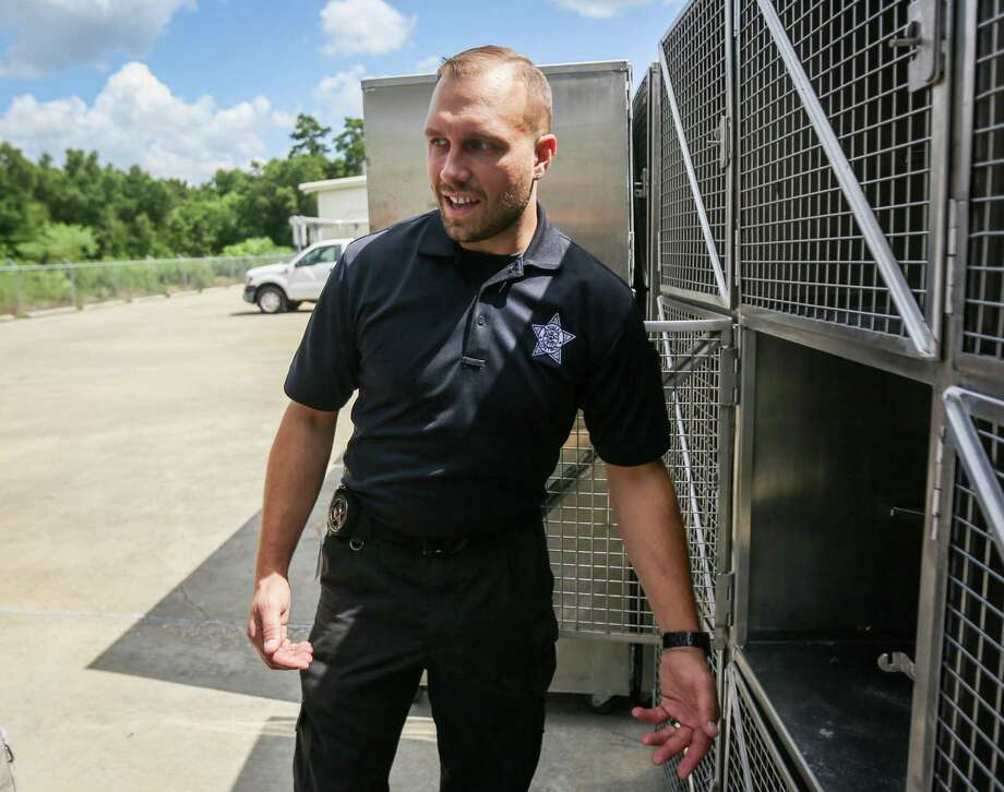 After being placed on administrative leave last month, Montgomery County Animal Shelter Director Aaron Johnson (pictured) and Assistant Director Mark Wysocki are back at work after investigators found no wrong doing after the shelter euthanized 78 animals in August. Photo: Michael Minasi, Staff Photographer / Houston Chronicle / © 2018 Houston Chronicle