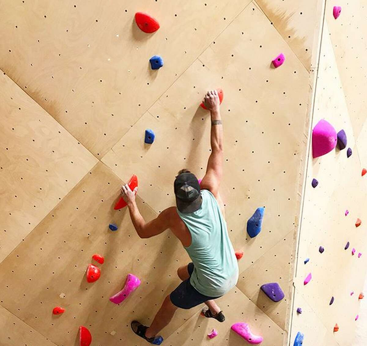 Armadillo Boulders is weeks way from opening at 1119 Camden St., owner Joe Kreidel said. He and his co-owner, Michael Cano, have spent the last couple of years working on their venture and ensuring the 5,200 square feet of walls are