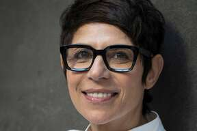 Chef Dominique Crenn at Atelier Crenn which she opened in 2011 in San Francisco, Calif., on Wednesday, June 13, 2018.
