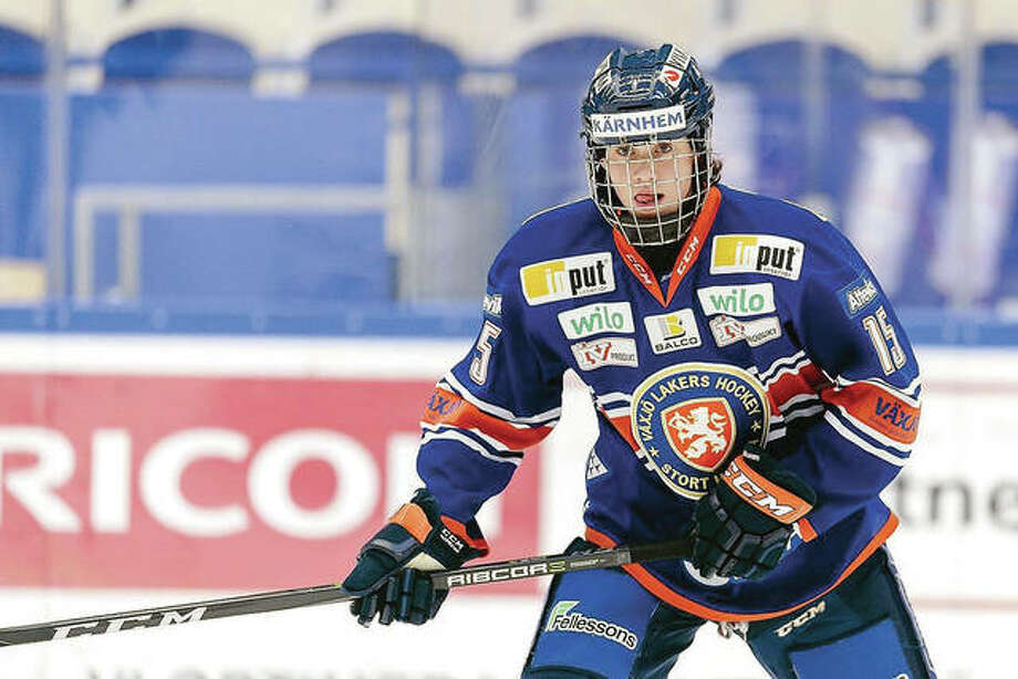Blues draft pic Dominik Bokk is one of the players taking part in the Blues Prospect Camp, which continues through Friday at the Ice Zone in Hazelwood. Photo:     NHL File