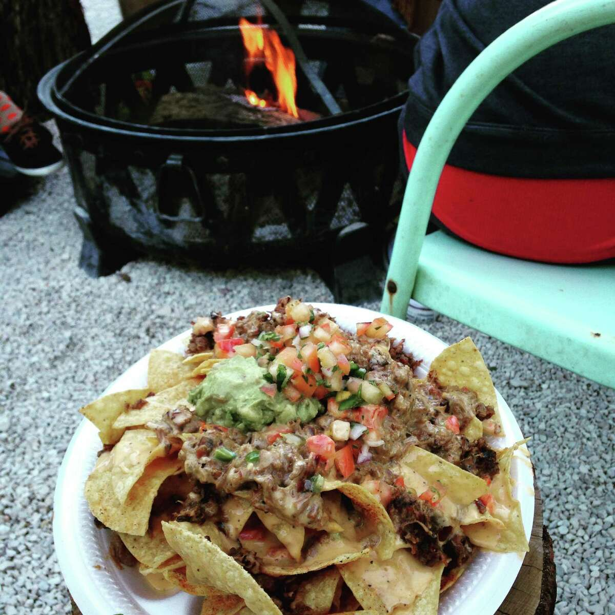 Brisket nachos from The Pigpen, 106 Pershing Ave.