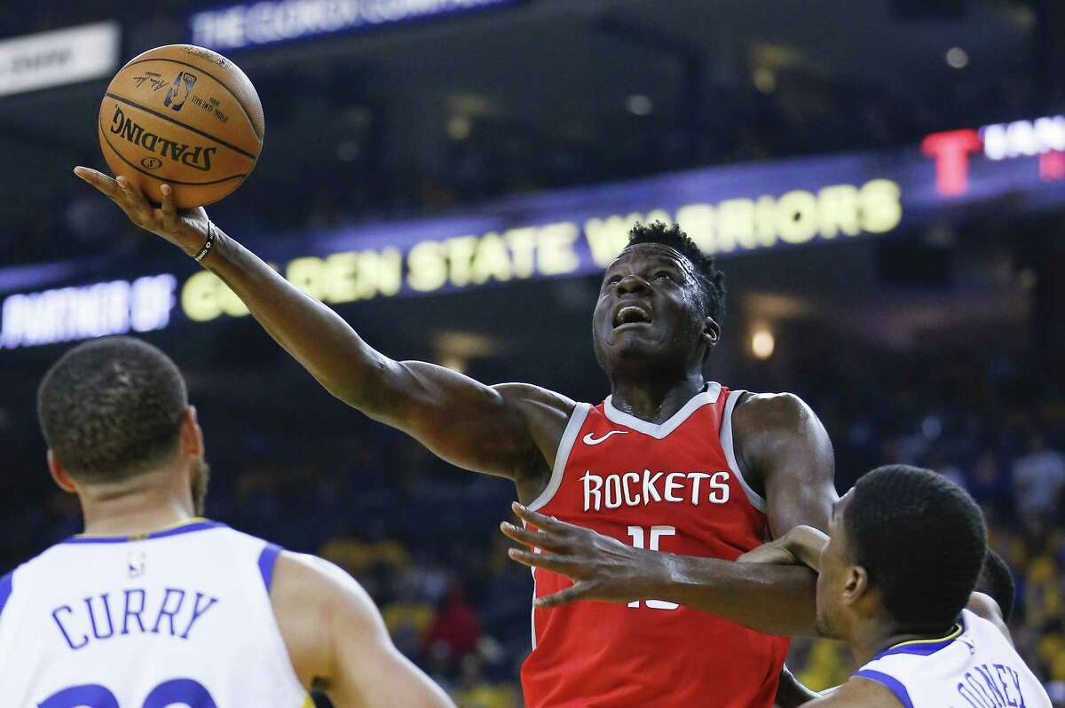 Center Clint Capela, who is coming off a career year, wants more than the Rockets are currently offering.