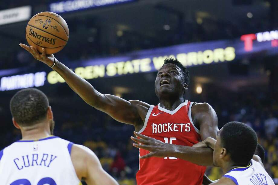 PHOTOS: Rockets open practice  After sitting out Thursday's game and Friday's practice with a sore right foot, Rockets center Clint Capela said he expected to be cleared for Saturday's practice and to play Sunday in San Antonio.  >>>See photos from the Rockets' open practice on Friday, Oct. 5, 2018 ... Photo: Michael Ciaglo, Houston Chronicle / Houston Chronicle / Michael Ciaglo