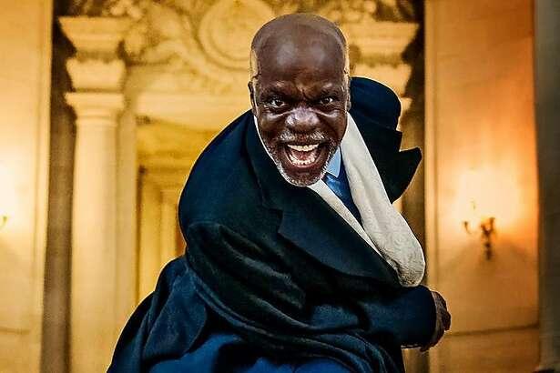 "L. Peter Callender in African-American Shakespeare Company's ""Richard III."""