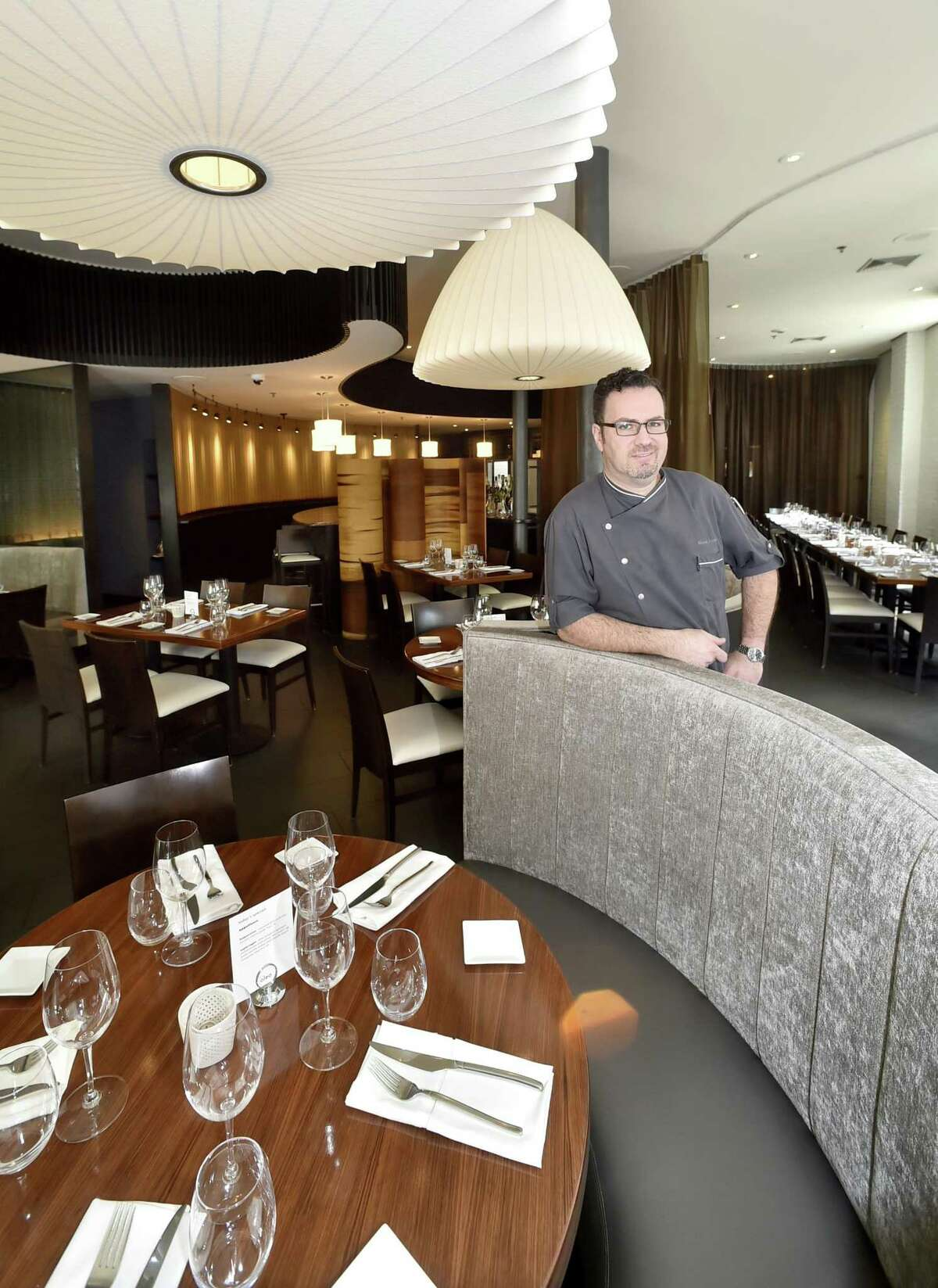 Owner and Chef Manuel Romero of Olea restaurant in New Haven.