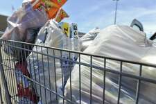 The Wal-Mart at Clark Boulevard and Bob Bullock Loop began this week giving out plastic bags. On Friday, the Texas Supreme Court struck down Laredo's plastic bag reduction ordinance. City officials have asked that consumers and retailers to stay the course, and continue to use reusable bags