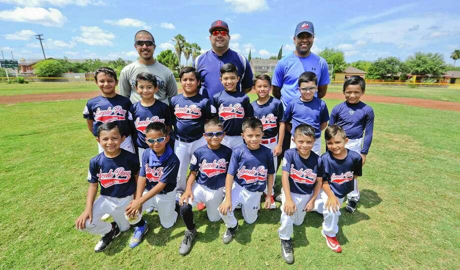 The Laredo PONY League 8U baseball team can advance to the World Series in Louisiana next month by winning a sectional tournament in Corpus Christi. Photo: Danny Zaragoza /Laredo Morning Times / Laredo Morning Times