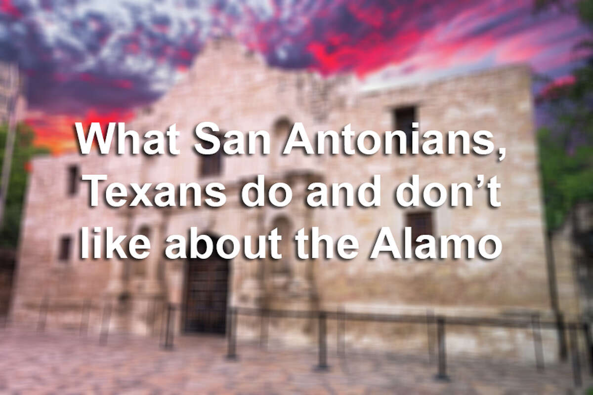 The 1,600 Texans polled for a market survey on elements of a proposed Alamo plan showed greatest support for more trees and shade. Click ahead to learn about the elements of the plan and what locals and residents in other Texas cities had to say.