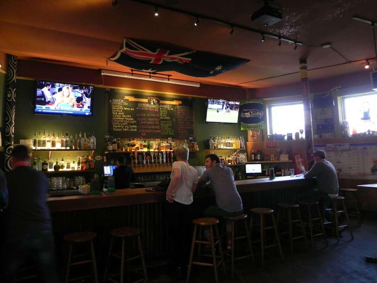 Kangaroo and Kiwi Pub