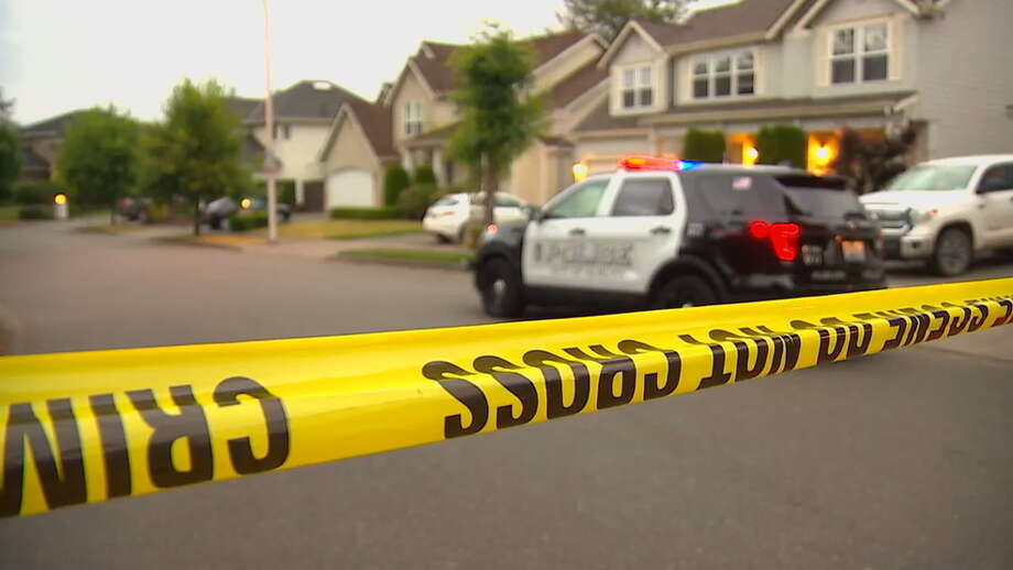 A woman was killed in an Auburn home early Thursday morning after an apparent shooting. Police arrested a man at the house and continue to investigate what happened. Photo: KOMO