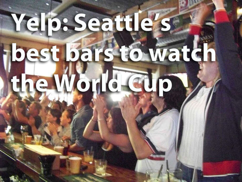 Want to get out there and watch some World Cup action among friends? Yelp used its algorithm to find what users recommend as the best places to watch futbol in Seattle. Photo: Yelp