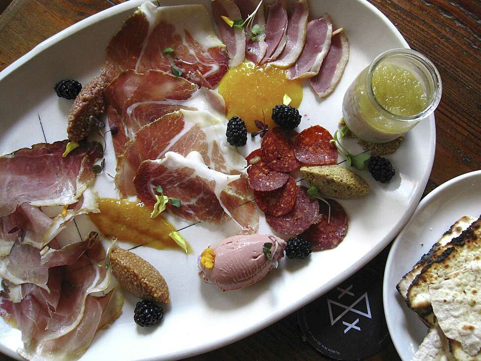 San Antonio's Best Restaurants (No. 2): Cured 306 Pearl Parkway, Suite 101, at the Pearl 210-314-3929 curedatpearl.com Cuisine: Contemporary American, Southern Specialties: Charcuterie, Blue Ribbon Burger, poutine, Cured cocktail Price range: $$$ On ExpressNews.com:Review: Cured makes a 3 ½-star statement at the Pearl $ under $15 / $$ $16-$30 / $$$ $31-$50 / $$$$ over $50 Prices are based on an average dinner, per person, not including alcohol.