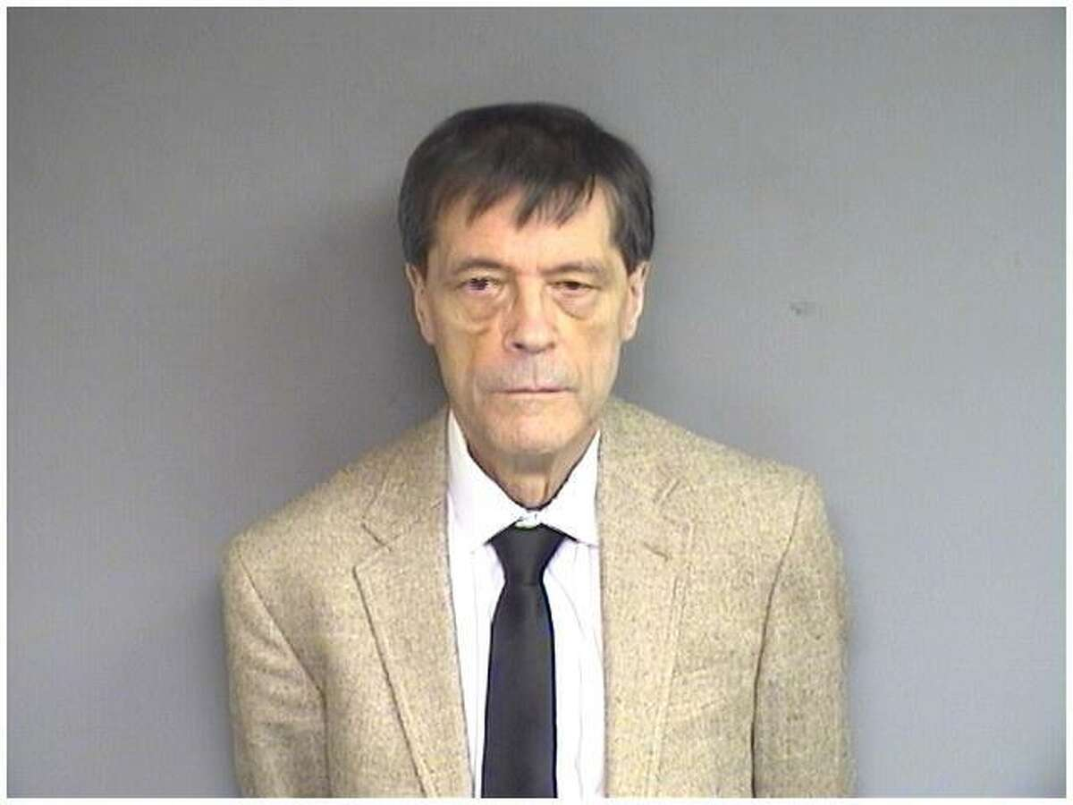 Allen Claxton, 75, was charged by Stamford police Thursday morning with stabbing his wife to death in the Westover home they shared on June 11. He was released after posting a court appearance bond of $150,000 in cash at the Stamford police department.