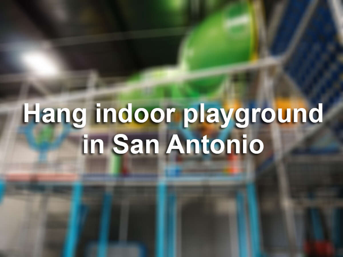 Click through for a look at the 7,600-square-foot Hang, an indoor playground that opened in San Antonio in early May 2018 at 403 Leslie Road.
