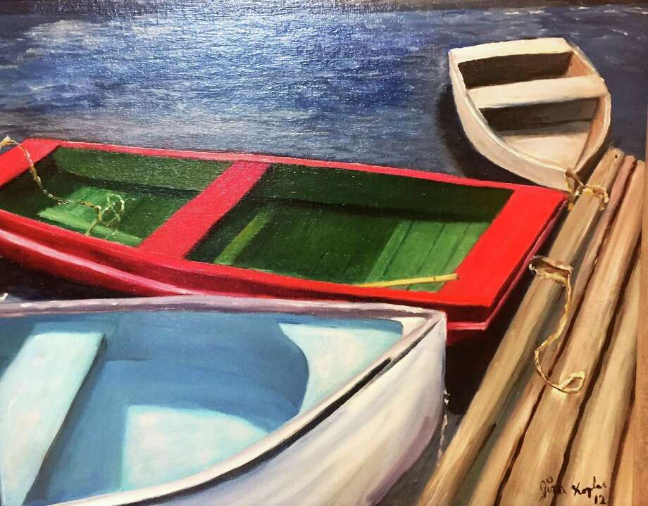 A work by Jim Koplar, the Charlotte Hungerford Hospital Auxiliary's Artist of the Month. Photo: Charlotte Hungerford Hospital / Contributed Photo