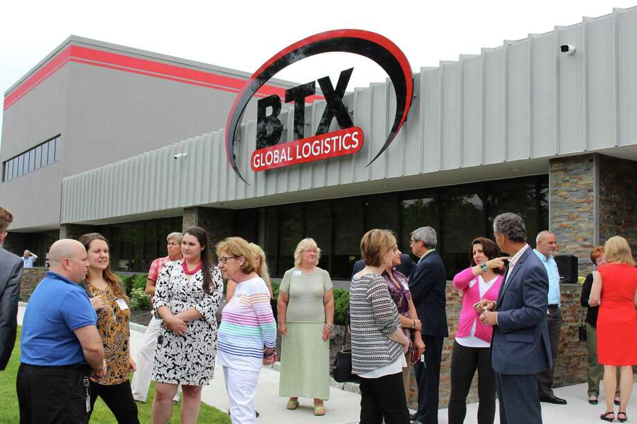 BTX Global Logistics celeberated opening its new 75,000-square-foot corporate headquarters and fulfillment center at 12 Commerce Drive in Shelton Photo: Jordan Grice / Hearst Connecticut Media / Connecticut Post
