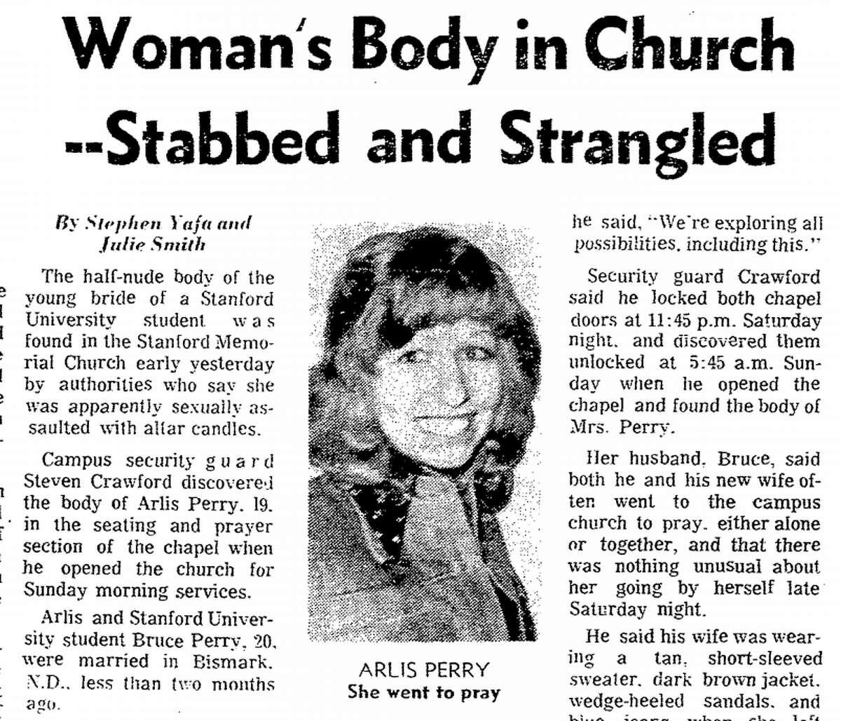A San Francisco Chronicle article about the 1974 murder of Arlis Perry on the Stanford campus.
