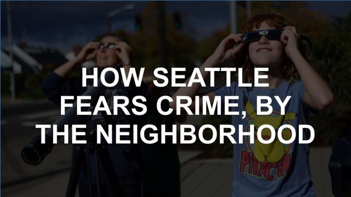 Click through the slideshow to see how much each Seattle neighborhood fears crime.