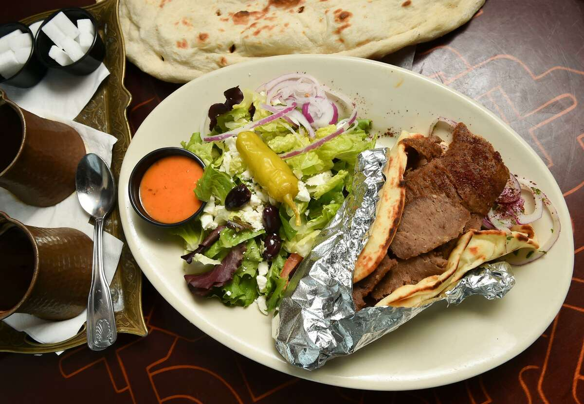 Pascha Mediterranean Grill won the Reader's Choice Award for best Gyro's.