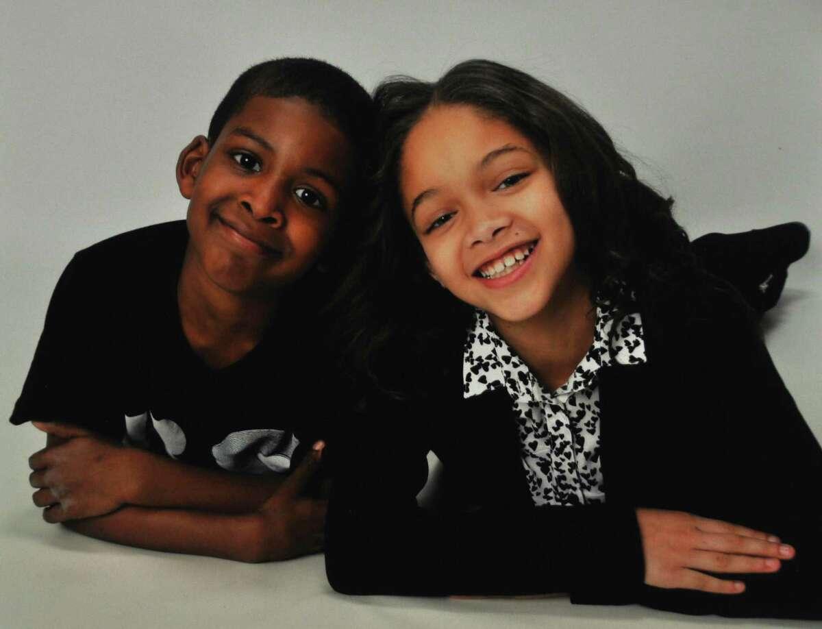 Dalia Yeend's children Taquan Jr. (9) and Savannah (11)
