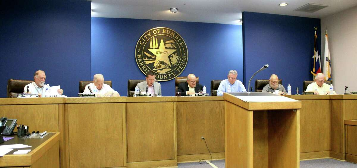 Humble City Council members met on June 28, 2018 and approved on a resolution supporting the San Jacinto River Authority submitting a grant application to the Texas Water Development Board for flood prevention studies.