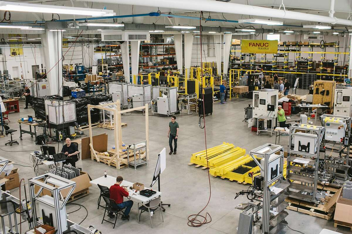 APT Manufacturing Solutions in Hicksville, Ohio, May 10, 2018. APT has begun offering apprenticeships, covering the cost of college for its workers, and three years ago it started teaching manufacturing skills to high school students. (Andrew Spear/The New York Times)