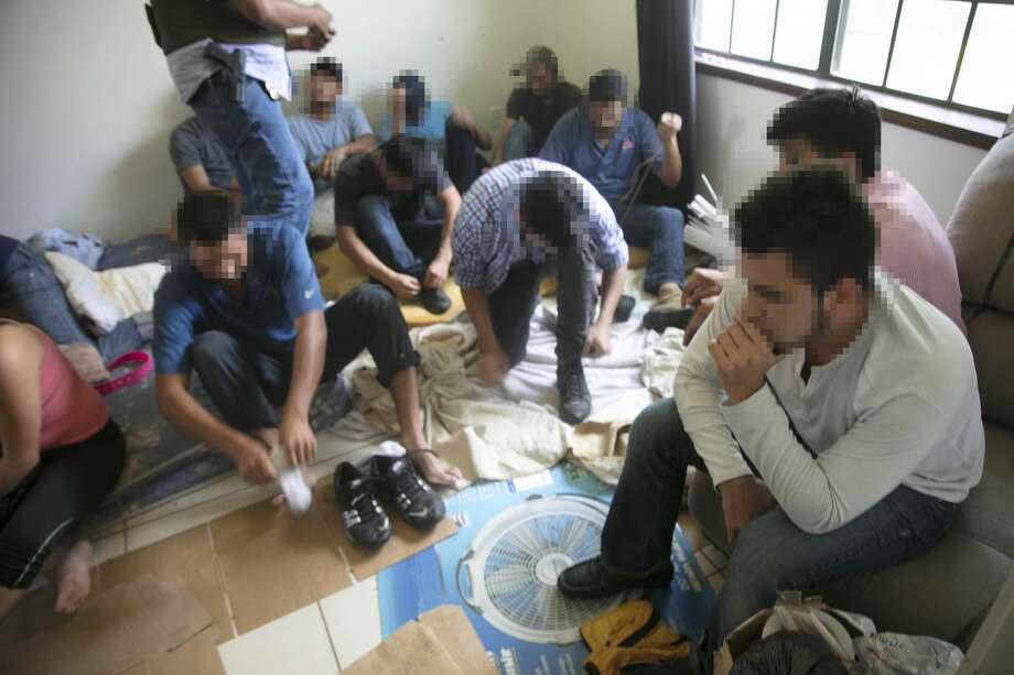 62 undocumented immigrants were found in an Edinburg home on June 28, 2018. Photo: U.S. Border Patrol