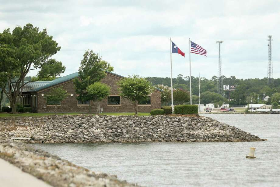 The Lake Conroe offices of the San Jacinto River Authority are pictured on Monday, June 18, 2018, at the Lake Conroe Dam. Photo: Michael Minasi, Staff Photographer / Houston Chronicle / © 2018 Houston Chronicle