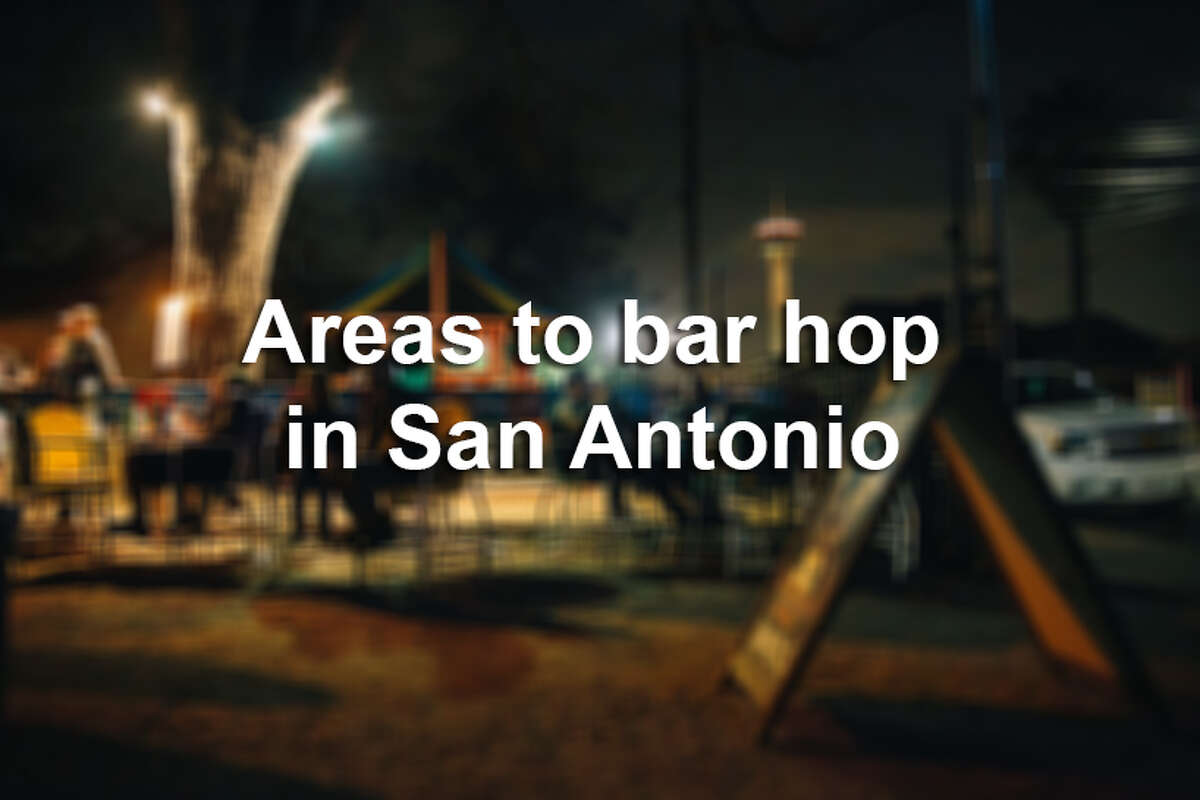 From Southtown to the St. Mary's Strip, there are plenty of bars within walking distance of each other in neighborhoods scattered across San Antonio. Click ahead to learn more about the spots to hit up during a night out.