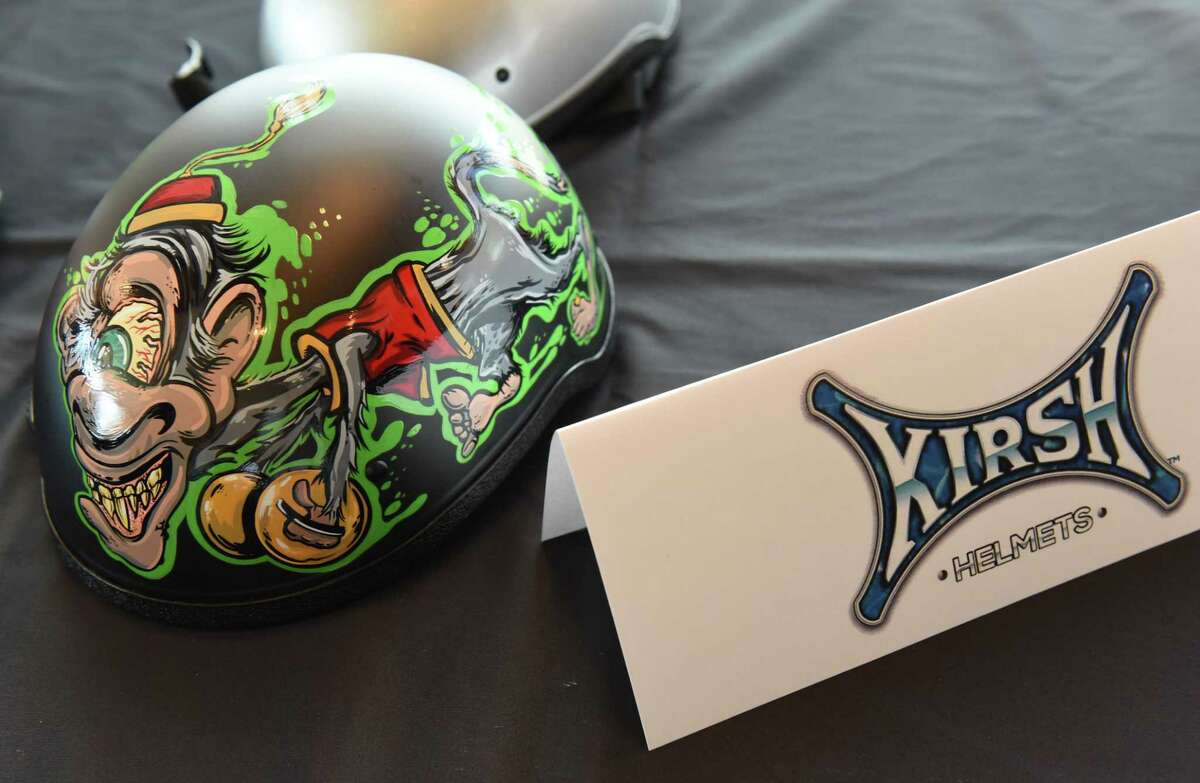 A Kirsh helmet is seen at the Annual Technology Awards at the Rivers Casino Resort on Thursday, June 28, 2018 in Schenectady, N.Y. (Lori Van Buren/Times Union)