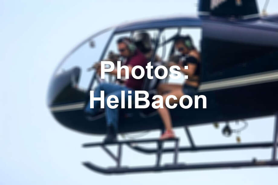 HeliBacon, an aerial helicopter company, offers hunters the chance to shoot down feral hogs from the sky. Their most exclusive trip is priced at $30,000.