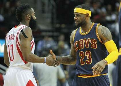 pick up 98699 8b145 LeBron James, Rockets need each other to win title ...