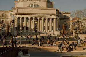 FILE � The campus of Columbia University, in Manhattan, March 19, 2018. Joel Davis, a Columbia University student whose global campaign against rape and sexual abuse of children earned him berths to speak alongside United Nations and State Department officials was himself charged with a series of sex crimes against children, on June 26, 2018. (Cole Wilson/The New York Times)
