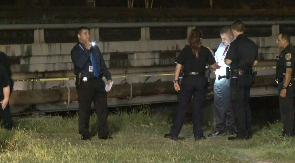One man is in serious condition after he was shot under the Gulf Freeway near Brays Bayou, on Friday, June 29, 2018.