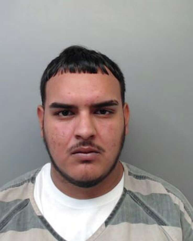 Jesus Castanon, 23, was charged with aggravated robbery with a firearm. Photo: Webb County Sheriff's Office