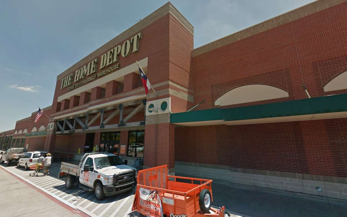 A Houston man is suing Home Depot after he said a toilet fell on him while he browsed an aisle in the hardware store.