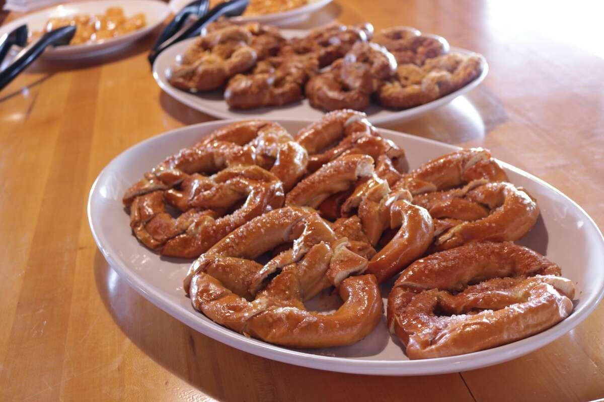 New summer treats on Schlitterbahn's menu. Salted Caramel Pretzel - South Padre Island