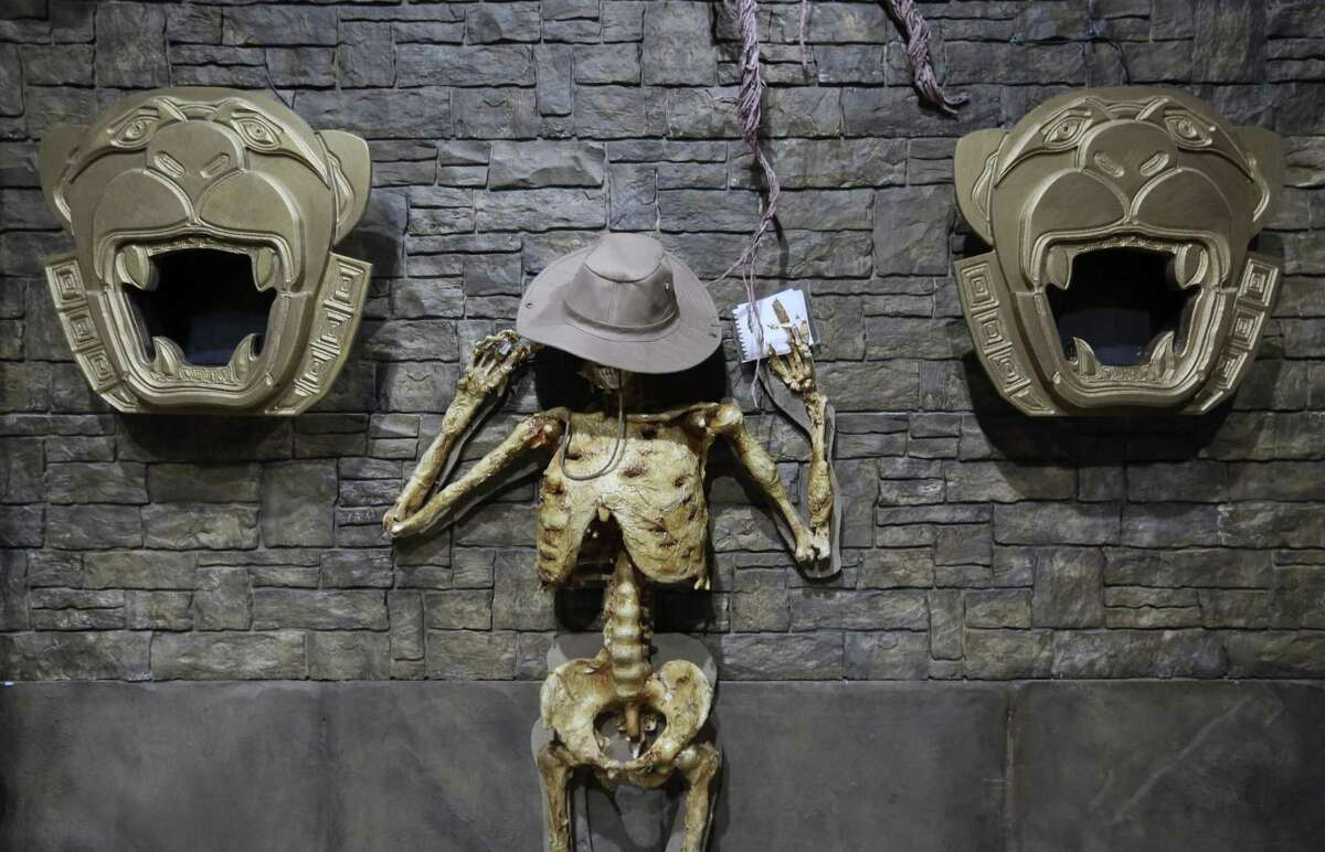 Detailed decor is one of the ways that the folks with Extreme Escape create immersive experiences. The escape room company, which has two locations, is the 2018 Express-News readers' choice winner for best family outing.