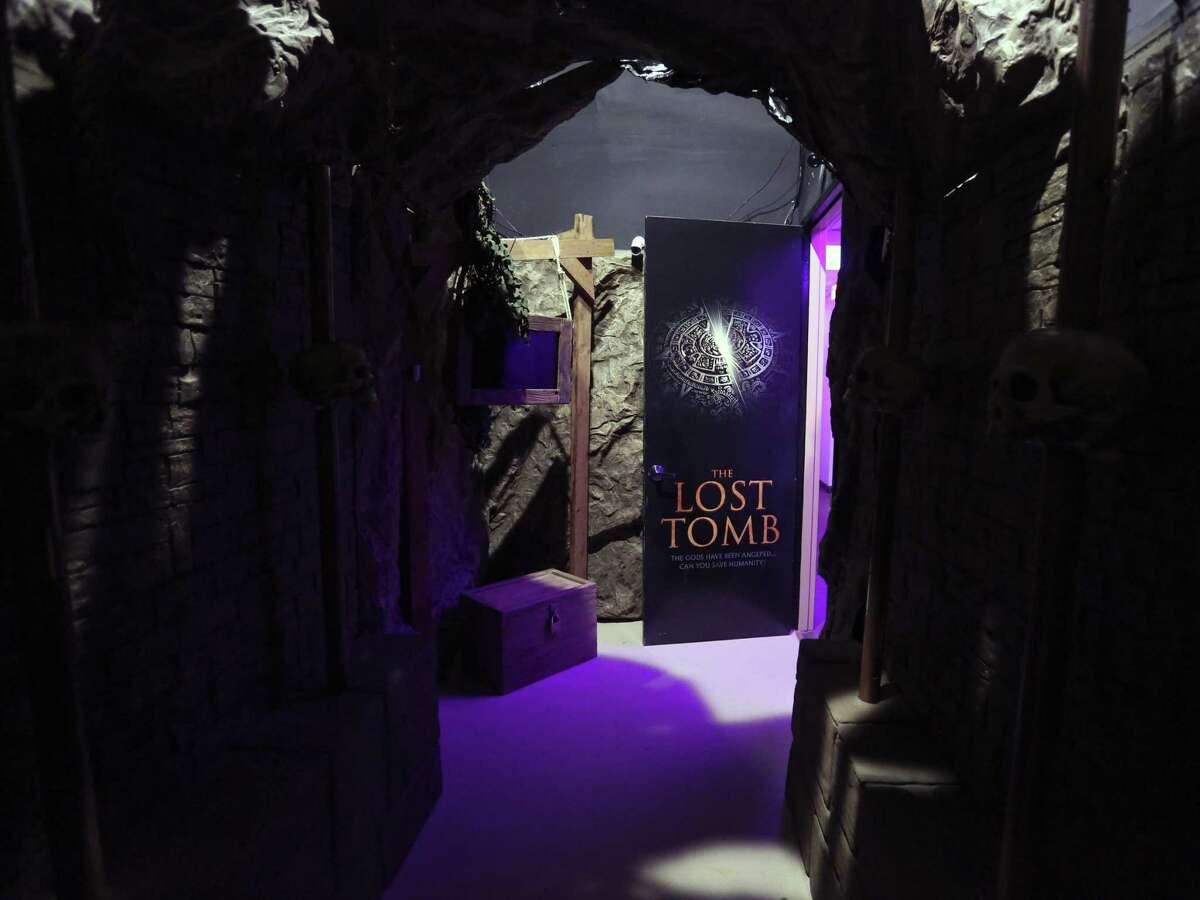The Lost Tomb is one of four themed escape rooms at the Extreme Escape location in Stone Oak.