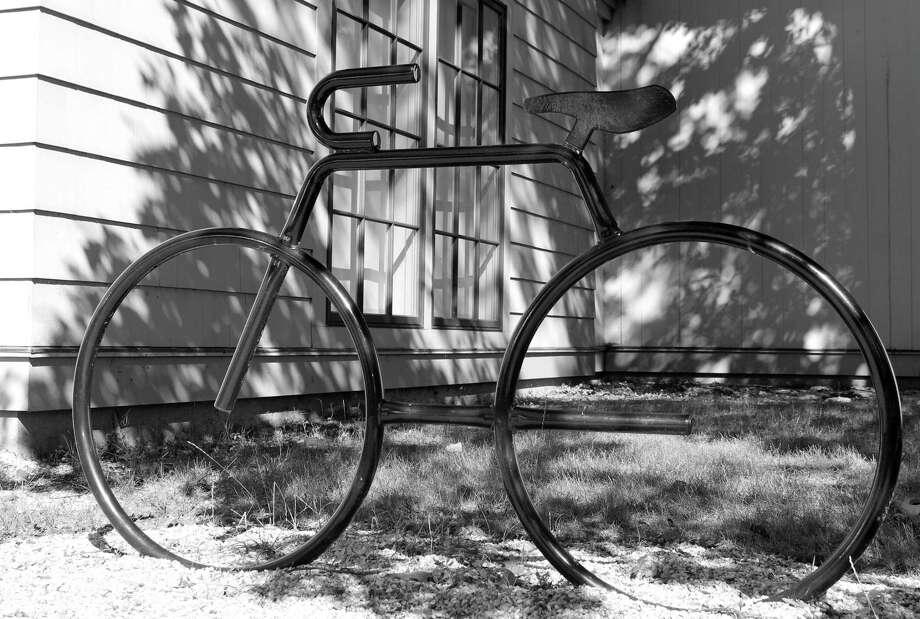 A stationary bike Photo: Genevieve Reilly / Hearst Connecticut Media / Fairfield Citizen