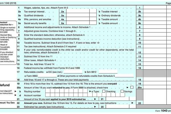 Is New 1040 Tax Form Deceptively Simple Or Just Deceptive