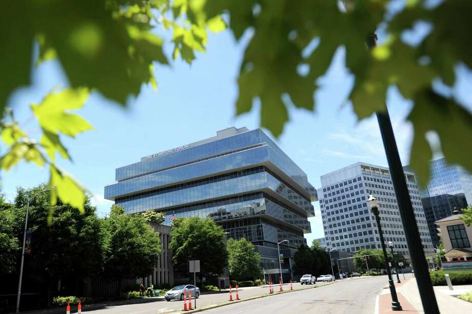 The Purdue Pharma headquarters are located at 201 Tresser Blvd., in downtown Stamford, Conn. Photo: Michael Cummo / Hearst Connecticut Media / Stamford Advocate