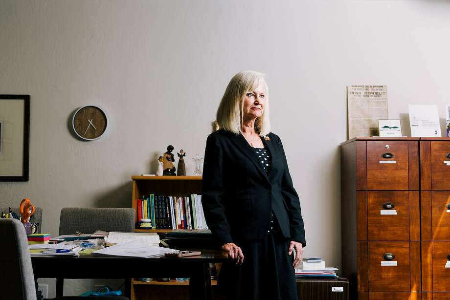 Ruth Patrick says some WomenSV clients were put on psychiatric holds after abuse involving devices. Photo: Anastasiia Sapon / New York Times