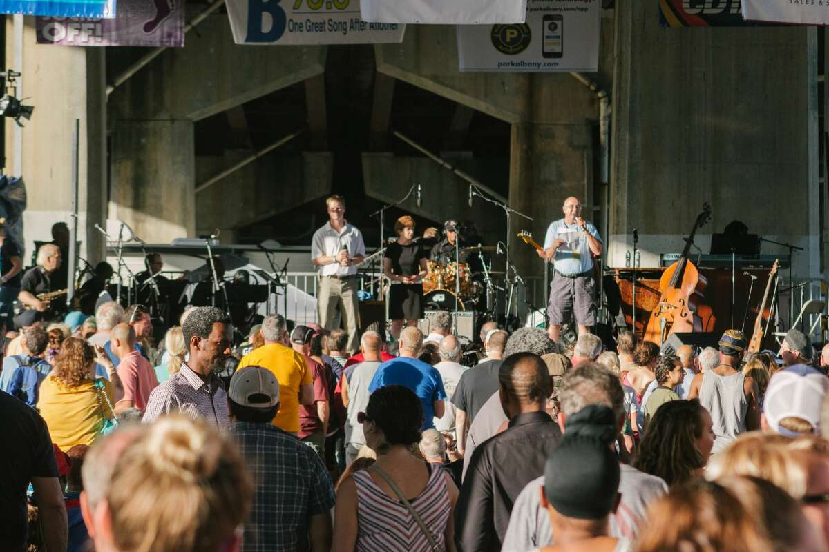 Were you Seen at Alive at Five featuring the B.B King Blues Band with Tito Jackson and special guest The Age on June 28 at the Corning Preserve Boat Launch in Albany?