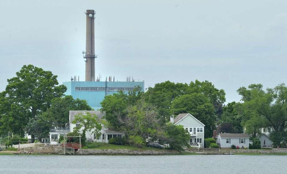 Manresa Island, seen from Norwalk Harbor on June 10, 2018 in Norwalk Conn. Photo: Alex Von Kleydorff / Hearst Connecticut Media / Norwalk Hour