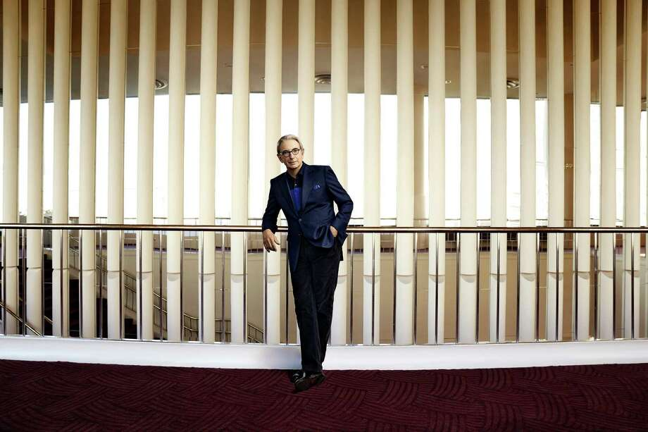Michael Tilson Thomas in Davies Symphony Hall Photo: Art Streiber