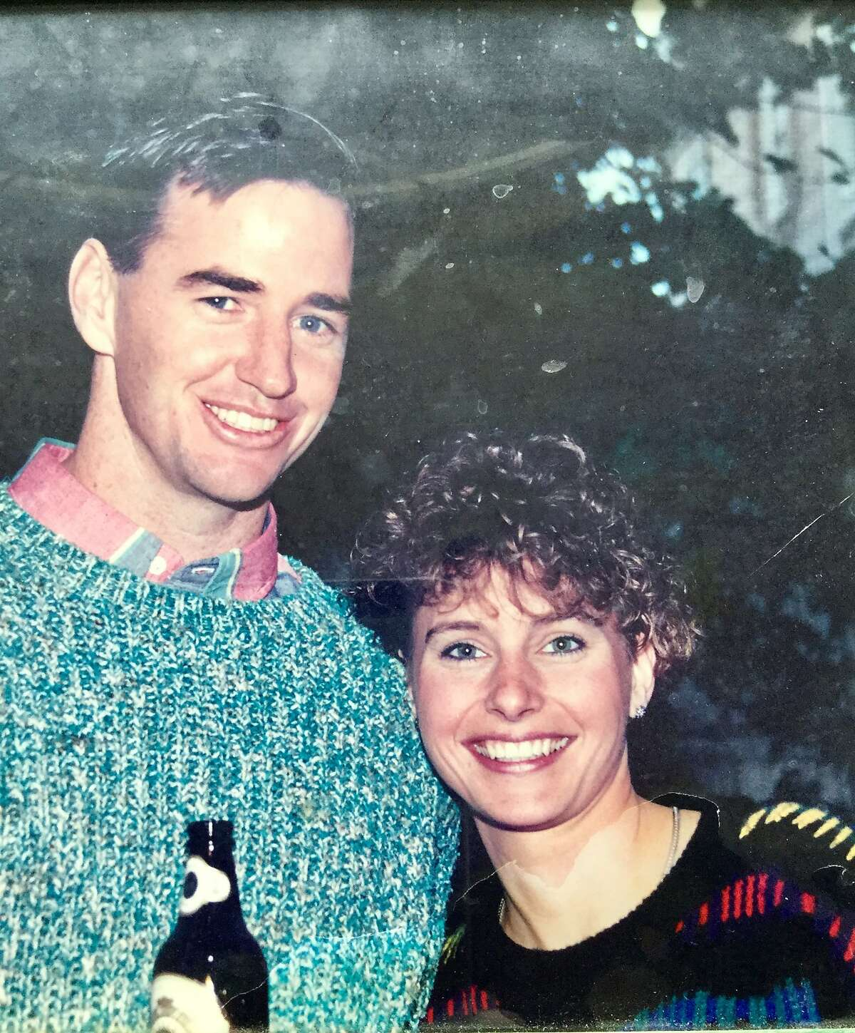 John Scully, shown with his wife, Michelle Scully, was slain in the 1993 attack at the San Francisco law office. He attempted to shield his wife from the killer.