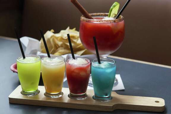 Margaritas made by Matamoros Restaurant Y Cantina come in a variety of flavors, including mango and strawberry. The restaurant won best margarita in the 2018 Express-News Readers' Choice awards.