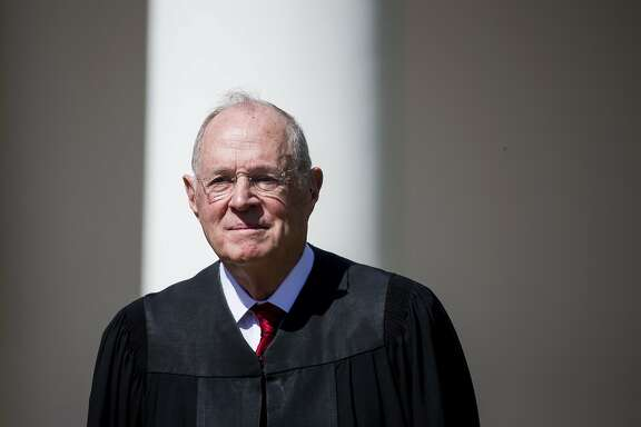 FILE - JUNE 27, 2018: Supreme Court Justice Anthony Kennedy, first nominated to the high court by President Reagan and confirmed in 1988, will retire as associate justice effective July 31, according to a statement released by the court. WASHINGTON, DC - APRIL 10:  U.S. Supreme Court Associate Justice Anthony Kennedy is seen during a ceremony in the Rose Garden at the White House April 10, 2017 in Washington, DC. Earlier in the day Gorsuch, 49, was sworn in as the 113th Associate Justice in a private ceremony at the Supreme Court. (Photo by Eric Thayer/Getty Images)